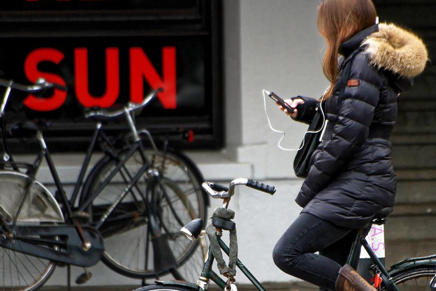 Appen op de fiets gaat je geld kosten