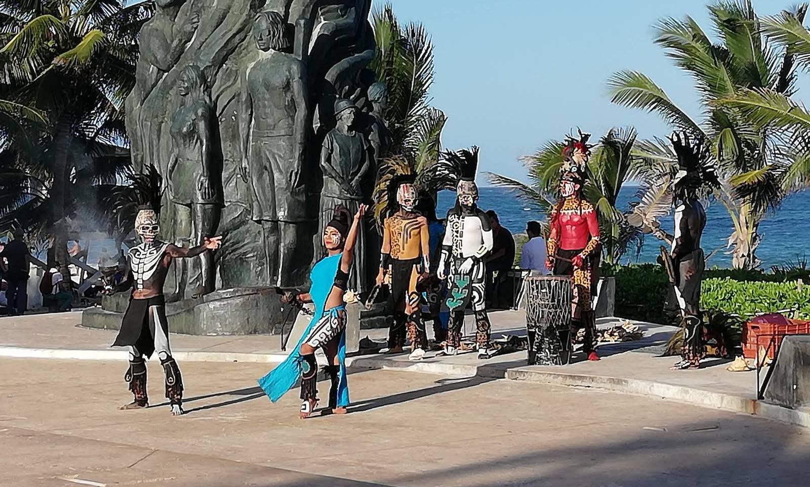 Een dagje Cozumel en de regendans